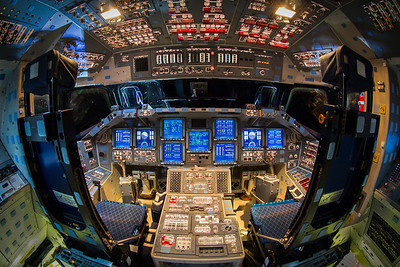 Space Shuttle Endeavour Powered Flight Deck